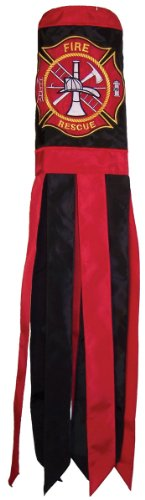 UPC 762379041748, In the Breeze Fire Rescue Windsock, 40-Inch