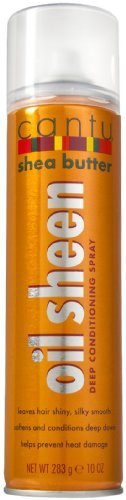 Cantu Oil Sheen Deep Conditioning Spray, 10 Ounce (Pack of -