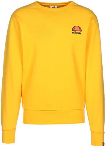 ellesse Sweater Herren DIVERIA Sweatshirt Gelb Yellow