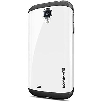 Galaxy S4 Case, Spigen Slim Armor Case for Galaxy S4 - Retail Packaging - White (SGP10204)