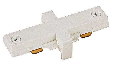 Juno Trac-Master White Miniature Straight Connector