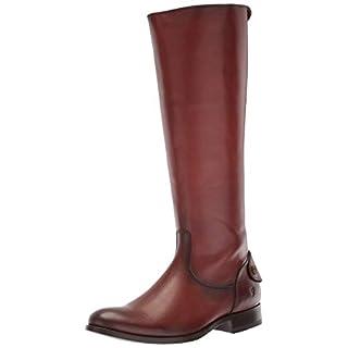 Frye Women's Melissa Button Back Zip Boot, Cognac, 10 M US