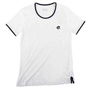 Lotto Share - Polo para mujer, color blanco y azul: Amazon.es ...