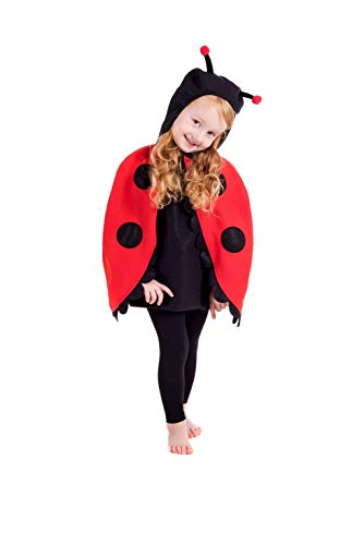 Toddlers Costume Kids Cute Ladybug Animal Outfit - -
