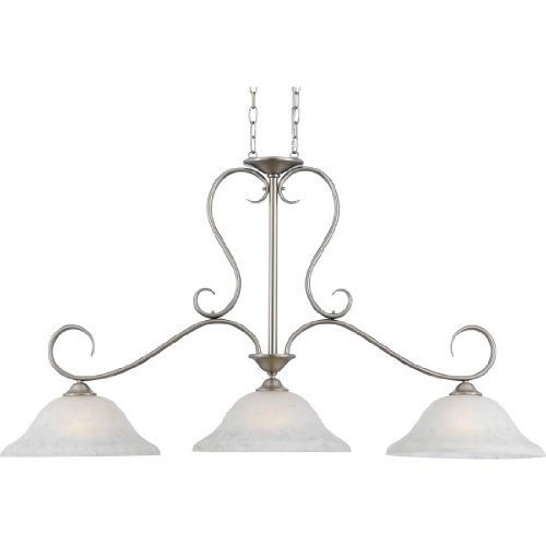 Quoizel DH348AN 3-Light Duchess Island Chandelier, 14