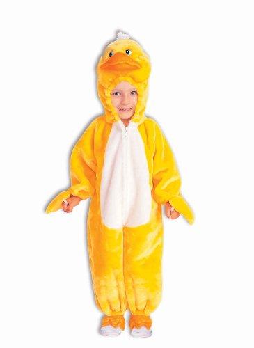 Forum Novelties Quackers The Duck Plush Cuddlee Costume, Child Small