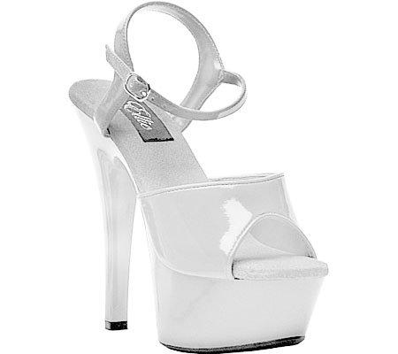 Ellie Shoes Women's 601 Juliet G Platform Sandal B00B0EUNQG 10|White
