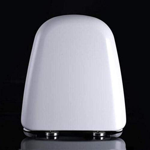 CXMWYトイレのふた 抗菌尿素 - ホルムアルデヒド樹脂1秒分解トイレカバー付き便座T-スタイルのトイレのふた、ホワイト