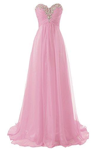 Tirantes Vestido Vestidos Baile Jaeden Gasa Largo Rubor Formales Dama De Honor Sin 67vUwUqx
