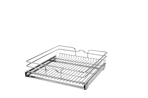 Rev-A-Shelf - 5WB1-2122-CR - 21 in. W x 22 in. D Base Cabinet Pull-Out Chrome Wire Basket ()