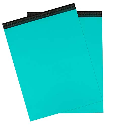 Inspired Mailers - Teal Poly Mailers 22x28 - Large Range of Size and Color Options Available - 3.15mil Unpadded Shipping Bags - Packaging Envelopes