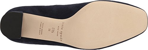 Kate Spade New York Mujeres Dijon Bow Navy Nubuck