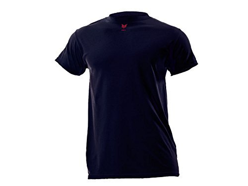 DRIFIRE Flame Resistant Industrial Lightweight Short Sleeve Shirt Navy Blue, Size: 3X by DRIFIRE