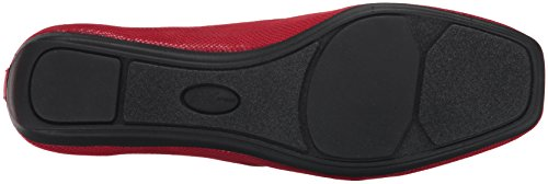 Anne Klein AK Sport Women's Ulisa Fabric Ballet Flat Red/Multi from china free shipping low price eIDOIuZ