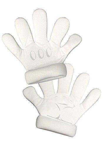 Super Mario White Gloves, Adult (Mario Glove)