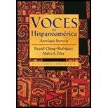 img - for Voces de Hispanoamerica by Chang-Rodriguez, Raquel, Filer, Malva E.. (Heinle,2003) [Hardcover] 3rd EDITION book / textbook / text book