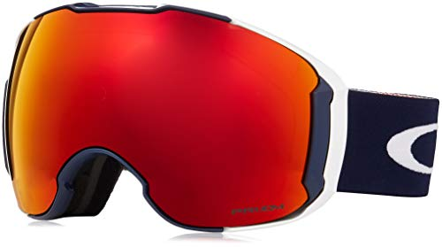 (Oakley Airbrake XL Snow Goggles, USOC Blazing Eagle Frame, Prizm Torch Iridium Lens, Large)