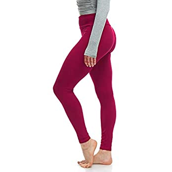 Luxurious Quality High Waisted Leggings for Women | Workout & Yoga Pants Plus