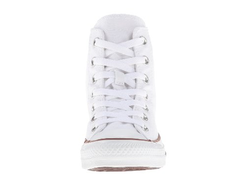 Converse Unisex Chuck Taylor AS Plaid HI Lace-Up Bianco (Optical White) discount from china outlet sneakernews L0K1H
