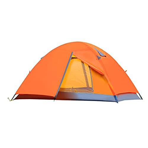 CCTRO 2 Person C&ing Tent Double Layer Waterproof Lightweight 3 Season Windproof Backpacking Tents for C&ing Hiking Traveling with Zippered Door and ...  sc 1 st  Amazon.com & Lightweight Waterproof Backpacking Tents: Amazon.com