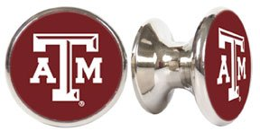 Drawer Pulls Texas A/&M Aggies NCAA Stainless Steel Cabinet Knobs 2-pack