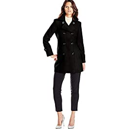 Anne Klein Women's Classic Double Breasted Coat