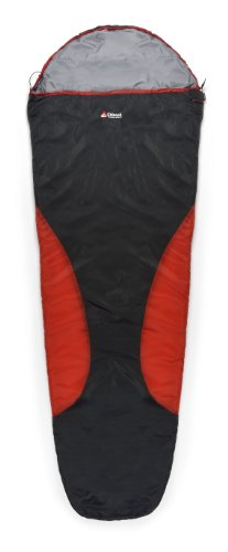 23f Mummy - Chinook Sportster Mummy 23-Degree Synthetic Sleeping Bag, Red