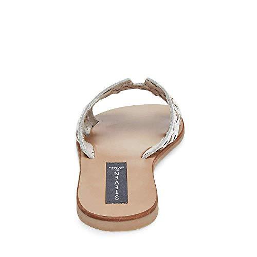 Greece Us Steve White Sandal Women's Madden w Leather 5 8 fq1xCFEnq