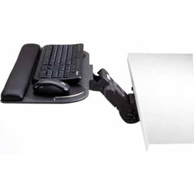 Grand Stands Ergo Pro Milan Combo - Keyboard Tray, Mouse Platform, Easy Lift Arm 15890-1/23475 - Milan Platform