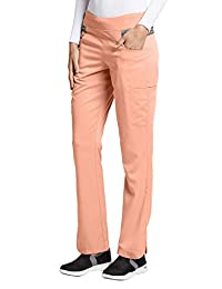 Grey's Anatomy Impact 7227 Women's 4-Pocket Space Dye Double Cargo Harmony Scrub Pant