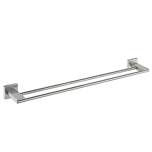 Stainless Double Bathroom Hanging Brushed product image