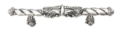 Carpe Diem Hardware 826-11 Acanthus 4-Inch O.C. Large Center Pull, Satin -