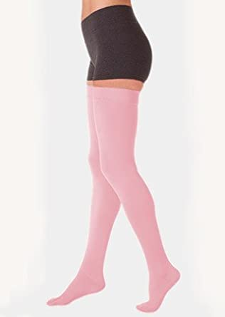 56a12bb2eb Image Unavailable. Image not available for. Color: Juzo 3512AGFFSBSH43 II Dynamic  30-40 mmHg Full Foot Thigh High Extra Firm Compression Stockings