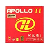 Galaxy/Milkyway Apollo II Table Tennis Rubber, Color-Red,Thickness-2.0mm,Hardness-41 Degrees offers