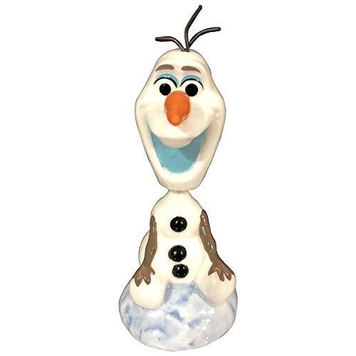 Westland Giftware Ceramic Bobble Figurine, Disney Frozen Olaf (Disney Ceramic Figurine)