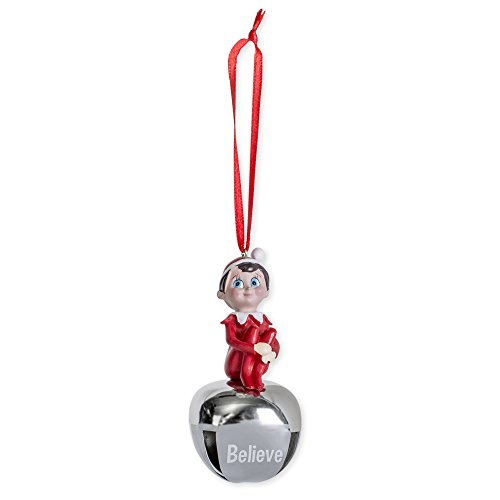 Buddy Elf on the Shelf Sleighbell Believe 3.5 inch Metal and Resin Christmas -