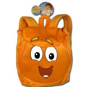 Brand New - Dora The Explore : Diego Animal Resuer Plush Backpack