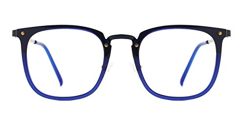 TIJN Square Acetate Frames with Metal Wiring Optical - Eyeglasses Europe Online