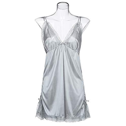 BOLUOYI Lingerie Plus Size Babydoll Nightwear Set Women Chemise Sleepwear by BOLUOYI (Image #7)