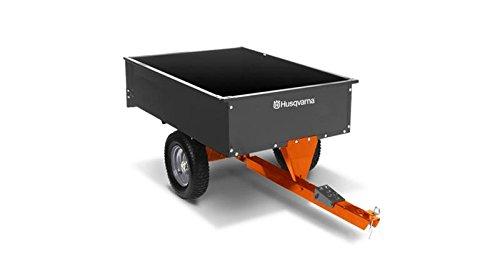 Swivel Dump Cart (Husqvarna 12 CU FT Steel Swivel Dump Cart #584401904 (588208804))