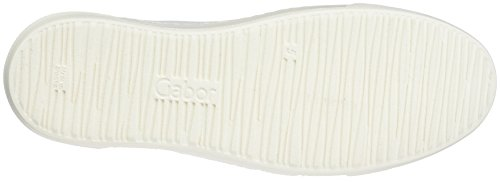 Gabor Women's Fashion Low-Top Sneakers, Beige White (Weiss/Ice 21)