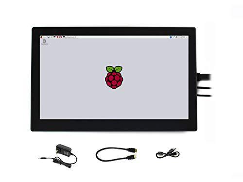 Waveshare Raspberry Pi IPS 1920x1080 13.3 اینچ HDMI LCD H با صفحه نمایش لمسی خازنی با جلد شیشه ای محکم پشتیبانی از Raspberry Pi BB Black Raspbian Ubuntu