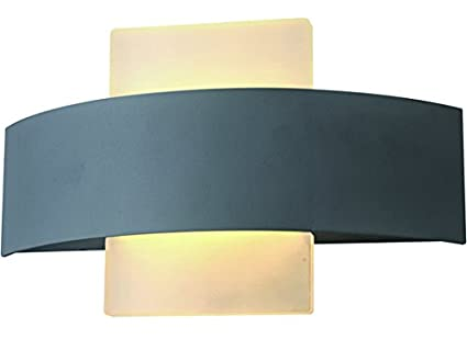 Vigor 3482010 applique led per esterni grigio scuro: amazon.it: fai