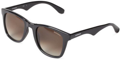 Negro Carrera 6000 Unisex Rectangulares Sol L Shaded Black Shiny de Brown Gafas Azure HFqHxf