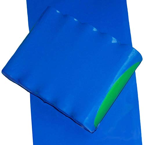Socell 3.5M//11.4Ft PVC Heat Shrink Tubing Wrap for 2 x 18650 Battery Shrink Sleeve Insulation casing Heat Shrink 105mm Width Blue