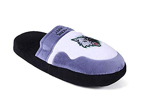 Minnesota Timberwolves Slippers - MTI02-4 Minnesota Timberwolves - X Large - Happy Feet NBA Scuff Slippers
