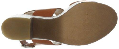 C. Doux NA 6407 - Sandalias de vestir de cuero para mujer Beige (Beige (cuero, cuero))