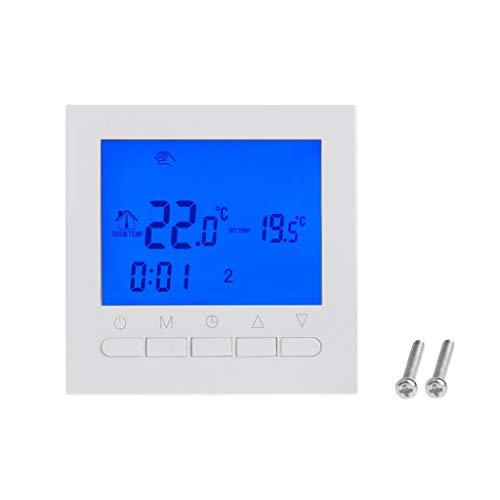 Vegan Temperature Sensor Weekly 220V Gas Boiler Heating Thermostat Room Temperature Controller Regulator ()
