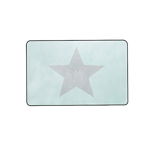 home carpet Alfombra Nórdica de Cinco Puntas con Forma de Estrella Alfombra de la Sala de Estar de la Ventana de la Sala de...
