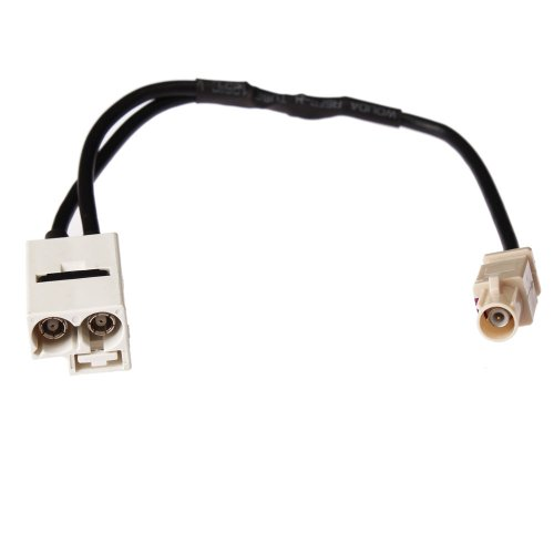 Moonet Car Fakra Adapter Fit for Vw Connector Rcd510 RNS510